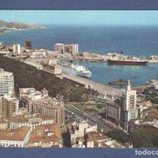 Postales: POSTAL CIA IBERIA - MALAGA VISTA PARCIAL - ESCUDO DE ORO. Lote 168598964