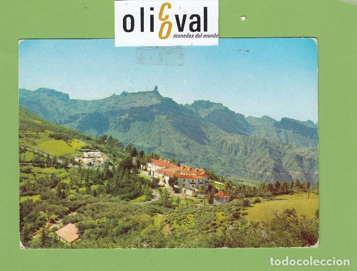 POSTAL HOTEL PARADOR DE TEJEDA GRAN CANARIA ESPAÑA DATADA 1978 PE2676 (Postales - Postales Temáticas - Publicitarias)