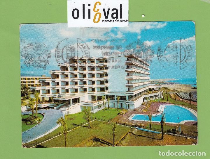 POSTAL HOTEL FARO MASPALOMAS LAS PALMAS DATADA 1978 ESPAÑA PE2677 (Postales - Postales Temáticas - Publicitarias)