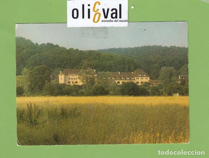 POSTAL HOTEL. MONASTÉRE STE-FRANÇOISE ROMAINE LE BEC-HELLQUIN BRIONNE FRANCIA PE26834 (Postales - Postales Temáticas - Publicitarias)