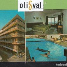 Postales: POSTAL HOTEL FENICIA BENIDORM ALICANTA ESPAÑA FRANQUEADA DATADA 1980 PE2686. Lote 168629628