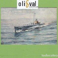 Postales: POSTAL BARCOS SUBMARINO PERAL 1917 1930 DETALLES DORSO PE02722. Lote 168815464