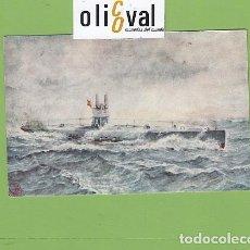 Postales: POSTAL BARCOS SUBMARINO NARCISO MONTURIOL 1917 1934 DETALLES DORSO PE02722. Lote 168815692