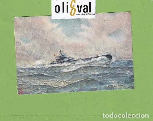 POSTAL BARCOS SUBMARINO GENERAL MOLA 1937 1959 DETALLES DORSO PE02720 (Postales - Postales Temáticas - Publicitarias)