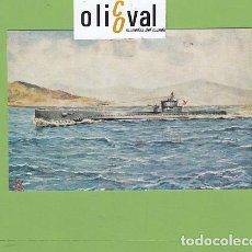 Postales: POSTAL BARCOS SUBMARINO C C1 C2 ,,,C6 1928 19548 DETALLES DORSO PE02719. Lote 168816108