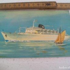 Postales: BARCOS IBARRA Y CIA S.A. SEVILLA. CABO SAN ROQUE, CABO SAN VICENTE. 1959 POSTAL POSTCARD. Lote 168839248