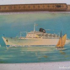 Postales: BARCOS IBARRA Y CIA S.A. SEVILLA. CABO SAN ROQUE, CABO SAN VICENTE. 1959 POSTAL POSTCARD. Lote 168839984