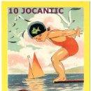 Postales: 10 JOCANTIC *** XXX FIRA DE COL.LECCIONISTES DE JOGUINES ANTIGUES *** SANT FELIU DE GUIXOLS. Lote 169229180