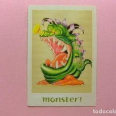 Postales: POSTAL PUBLICITARIA BOOMERANG - MONSTER (THERE´S A BETTER JOB OUT THERE). Lote 170978309