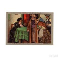 Postales: LA GLORIA - GALLETAS Y BIZCOCHOS DE LUJO, LA HIJA PRÓDIGA, POR CARLOS VAZQUEZ.. Lote 171121613