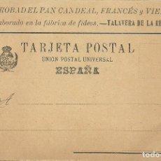 Postales: (PS-61425)POSTAL PROBAD EL PAN CAN DEAL,FRANCES Y VIENA-TALAVERA DE LA REINA. Lote 171249828