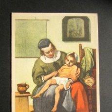 Postales: TARJETA ILUSTRADA PUBLICIDAD FARMACÉUTICA EN REVERSO. MEDICINA, FARMACIA, MEDICAMENTOS. BIROBIN. . Lote 171309122