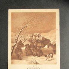 Postales: TARJETA PUBLICIDAD FARMACÉUTICA REVERSO. MEDICINA, FARMACIA. LA NEVADA. GOYA. PULMOQUINOL. . Lote 171310643