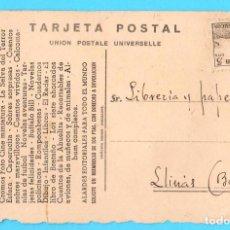 Postales: POSTAL PUBLICITARIA. COMERCIAL DISTRIBUIDORA DE PUBLICACIONES. COMERCIAL PALACIOS, 1940'S.. Lote 171489634