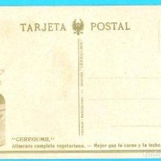 Postales: POSTAL PUBLICITARIA. CEREGUMIL. BURGOS. CATEDRAL. PUERTA DEL SARMENTAL. EXPOSICIÓN BARCELONA, 1929. . Lote 171489907