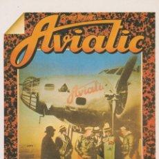 Postales: POSTAL PUBLICITARIA AVIATIC L'AUTHENTIQUE - VANGUARDIA - S/C. Lote 171514294