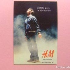 Postales: POSTAL PUBLICITARIA - VISTETE PARA LA ABDUCCION - H&M. Lote 171588359
