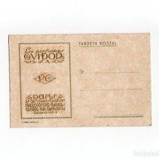 Postales: BARCELONA. POSTAL PUBLICITARIA. LOS PERFUMES EVIDOR. S.A. PARIS.. Lote 172018460