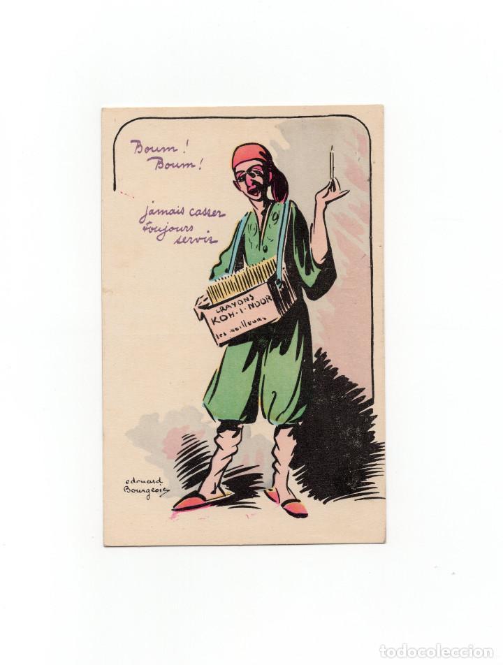 TARJETA PUBLICITARIA LÁPICES KOH-I-NOOR (Postales - Postales Temáticas - Publicitarias)