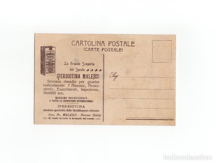 Postales: POSTAL PUBLICITARIA. IPERBIOTINA MALESCI. IMPOTENCIA. ANUMIA ...ETC - Foto 2 - 172022038
