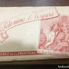 Postales: LIBRO CON POSTALES PALOMINO & VERGARA - JEREZ DE LA FRONTERA. Lote 172066248