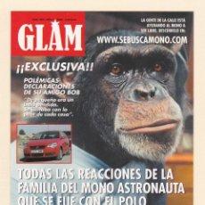 Postales: POSTAL PUBLICITARIA GLAM Y COCHE VOLKSWAGEN POLO MATCH. Lote 172089618