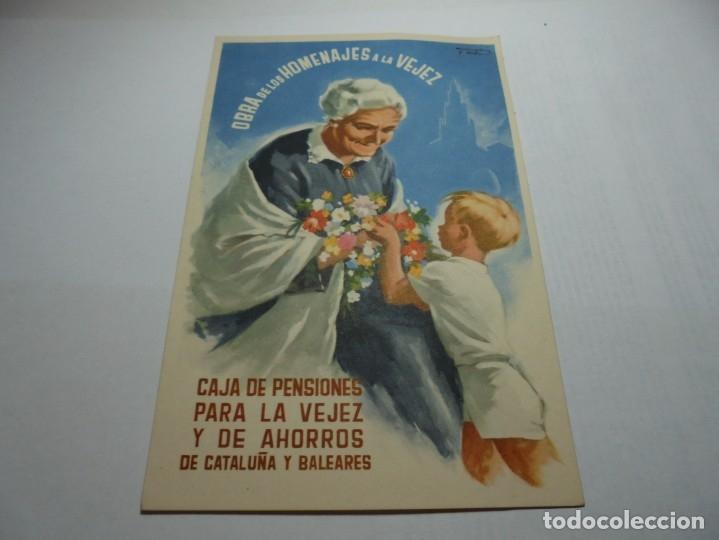 Postales: magnificas antiguas 9 postales de caja de pensiones para la vejez y de ahorros - Foto 9 - 172154948