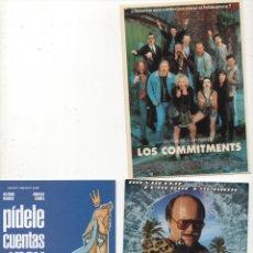 Postales: 3 POSTALES PUBLICITARIAS DE CINE. Lote 172573139