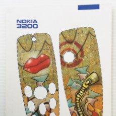 Postales: CARCASA RECORTABLE PARA EL NOKIA 3200 – AÑO 2003. Lote 172690557