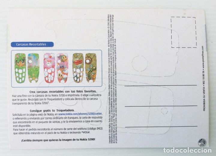 Postales: Carcasa recortable para el Nokia 3200 – año 2003 - Foto 2 - 172690557