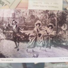 Postales: ANTIGUA POSTAL PUBLICIDAD CHOCOLATES AMATLLER BARCELONA. Lote 173753733