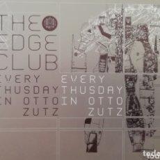 Cartes Postales: THE EDGE CLUB, OTTO ZUTZ. BCN. Lote 174012062