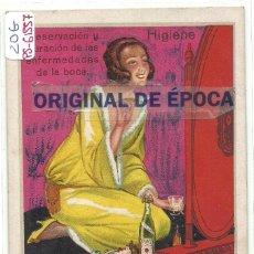 Postales: (PS-61557)POSTAL PUBLICITARIA AGUA OXIGENADA FORET. Lote 174908945
