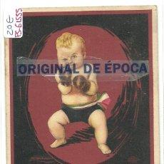 Postales: (PS-61555)POSTAL PUBLICITARIA HARINA LACTEADA CARLO ERBA. Lote 174909934