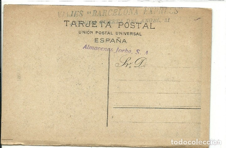 Postales: (PS-61574)POSTAL EXPOSICION GENERAL ESPAÑOLA - SEVILLA - BARCELONA 1929 - Foto 2 - 175122723
