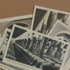 Postales: 8 POSTALES SANLUCAR DE BARRAMEDA - BODEGA SUCESORES R. MANJÓN - ANTIGUAS. Lote 177081797
