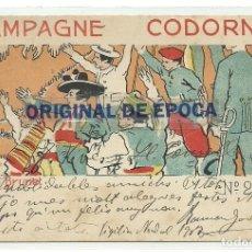 Postales: (PS-61772)POSTAL CHAMPAGNE CODORNIU-ILUSTRADA POR LORENZO BRUNET. Lote 177403285