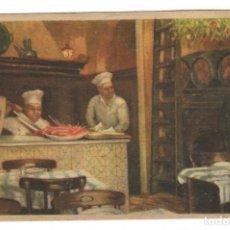 Postales: TARJETA POSTAL / LOS CARACOLES EL RESTAURANTE MÁS ANTIGUO Y TÍPICO DE BARCELONA. Lote 177629187