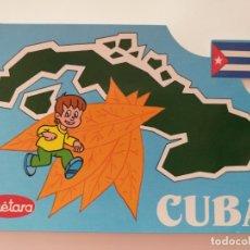 Postales: POSTAL PUBLICITARIA GALLETAS CUETARA. TELEVISION ESPAÑOLA. ESPECIAL CUBA. AÑO 1990.. Lote 177656934