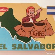 Postales: POSTAL PUBLICITARIA GALLETAS CUETARA. TELEVISION ESPAÑOLA. ESPECIAL EL SALVADOR. AÑO 1990. Lote 177657142