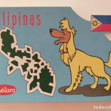 Postales: POSTAL PUBLICIDAD GALLETAS CUETARA. TELEVISION ESPAÑOLA. ESPECIAL FILIPINAS. AÑO 1990.. Lote 177657520