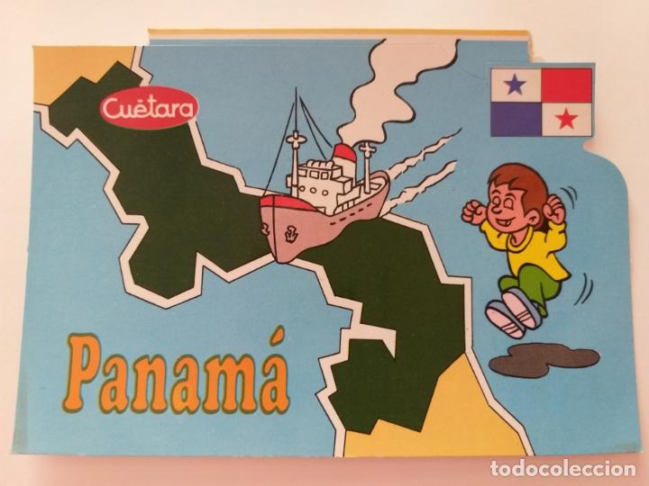 POSTAL PUBLICIDAD GALLETAS CUETARA. TELEVISION ESPAÑOLA. ESPECIAL PANAMÁ. AÑO 1990. (Postales - Postales Temáticas - Publicitarias)