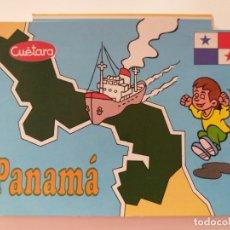 Postales: POSTAL PUBLICIDAD GALLETAS CUETARA. TELEVISION ESPAÑOLA. ESPECIAL PANAMÁ. AÑO 1990.. Lote 177657635