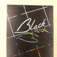 Postales: BAR MUSICAL BLACK (BARCELONA). POSTAL PROMOCIONAL SIN CIRCULAR. AÑOS 80S. 10,5 X 15 CMS.. Lote 177958152