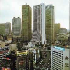 Postales: POSTAL PUBLICITARIA TOKYO, VISTA PARCIAL - AIR MAIL - CIRCULADA. Lote 178595816