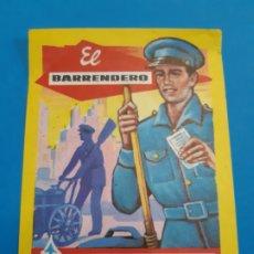 Postales: FELICES FIESTAS. EL BARRENDERO. FELICITACION NAVIDAD. . Lote 178602141