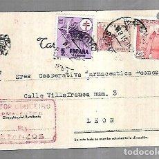 Postales: TARJETA POSTAL PUBLICITARIA.DOCTOR COUCEIRO FARMACEUTICO. BETANZOS.. Lote 179241543