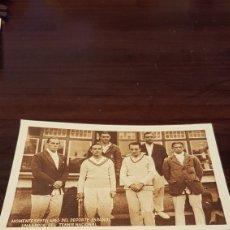 Postales: POSTAL PUBLICIDAD KOLA GRANULADO UNA ÉPOCA DEL TENIS ESPAÑOL. Lote 179556301