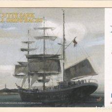 Postales: POSTAL PUBLICITARIA CUTTY SARK TALL SHIPS'RACES. LA CORUÑA 2002 - POSTALFREE. Lote 180017670