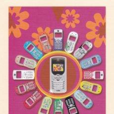 Postales: POSTAL PUBLICITARIA TELEFONO MOTOROLA SERIE C C350. Lote 180034418